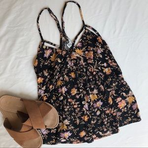 American Eagle Outfitters XS floral tank top loose